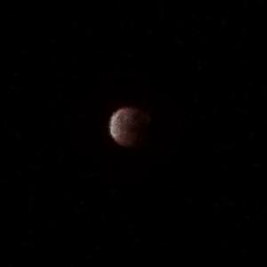 My lunar eclipse photo 28th Sept 2015
