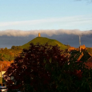 Atmospheric cloud bank Tor