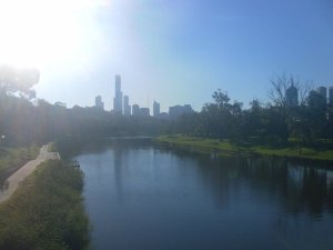 Melbourne river shot
