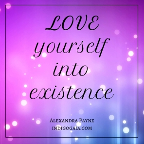 love-yourself-into-existence