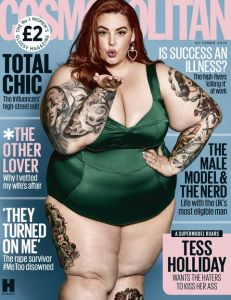 Cosmopolitan Tess Holliday